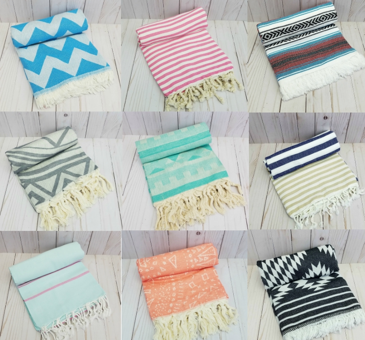 wholesale-turkish-towels-beach-fouta-bath-cotton-supplier-roundie-shape-terry-round-cute-mandala
