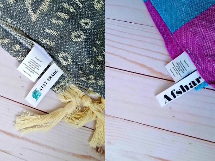 Turkish towels wholesale custom labeling